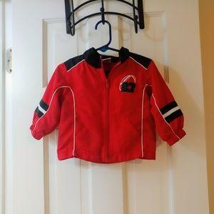 🏈 12mo. Lightweight Windbreaker Football Jacket